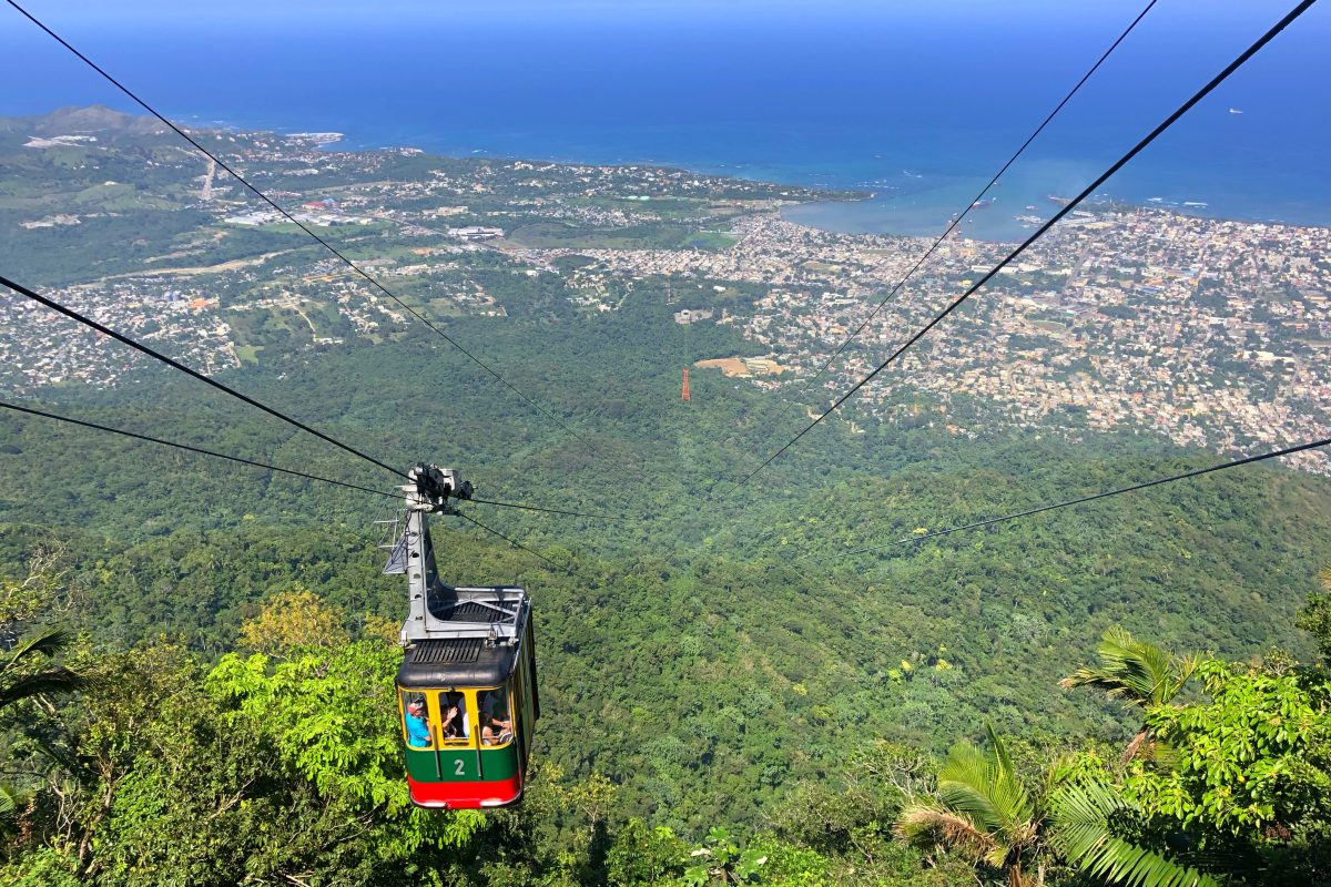 Adventures in the DR: Crazy Taxi, Cable Cars & Waterfalls
